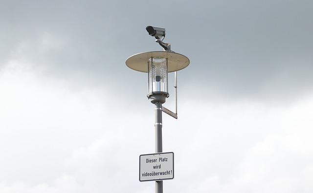 Megfigyelő kamera rendszer a köztereken