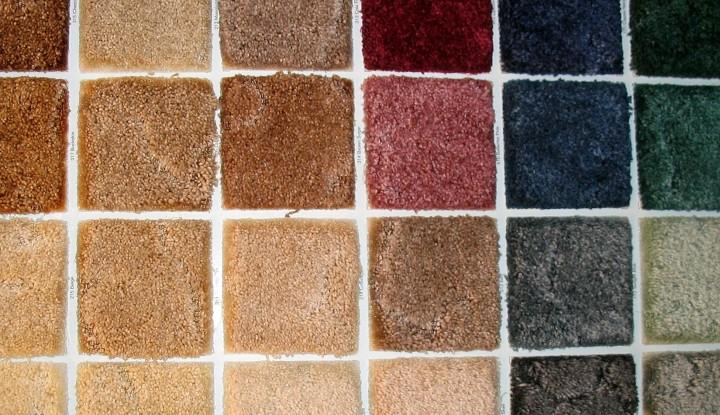 A padlószőnyeg gazdag választékban érhető el