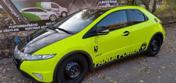 Az autófóliázás Budapest városában is igényelhető
