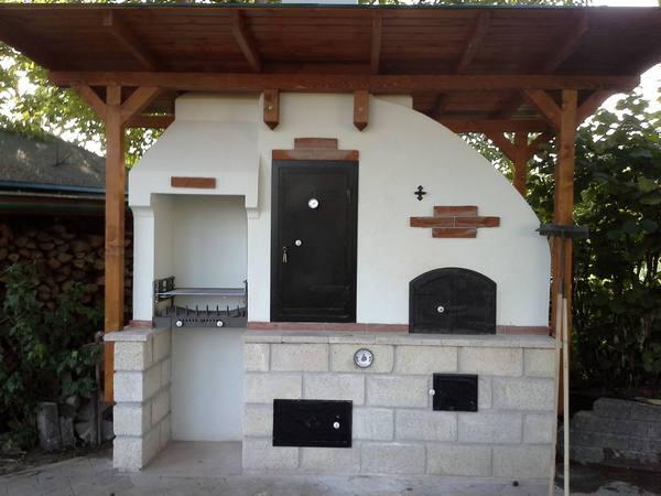 nyári konyha építés